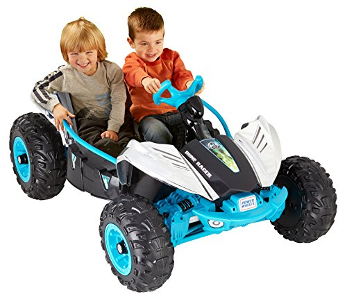 Motorized Toys For Boys : Fisher price power wheels dune racer chrome ride on