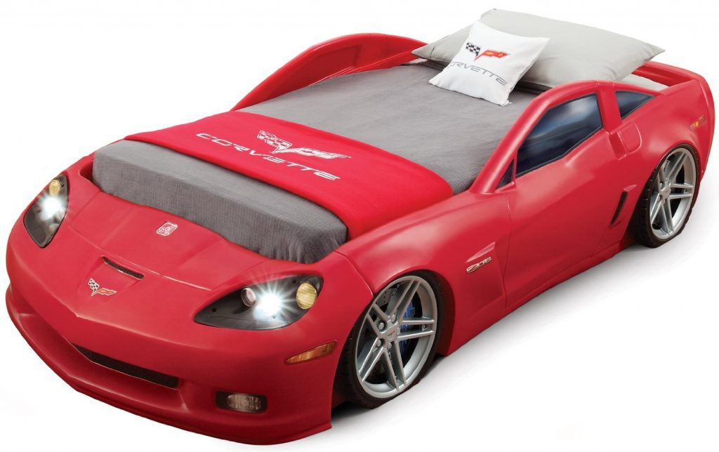 Corvette Car Bed with twin mattress