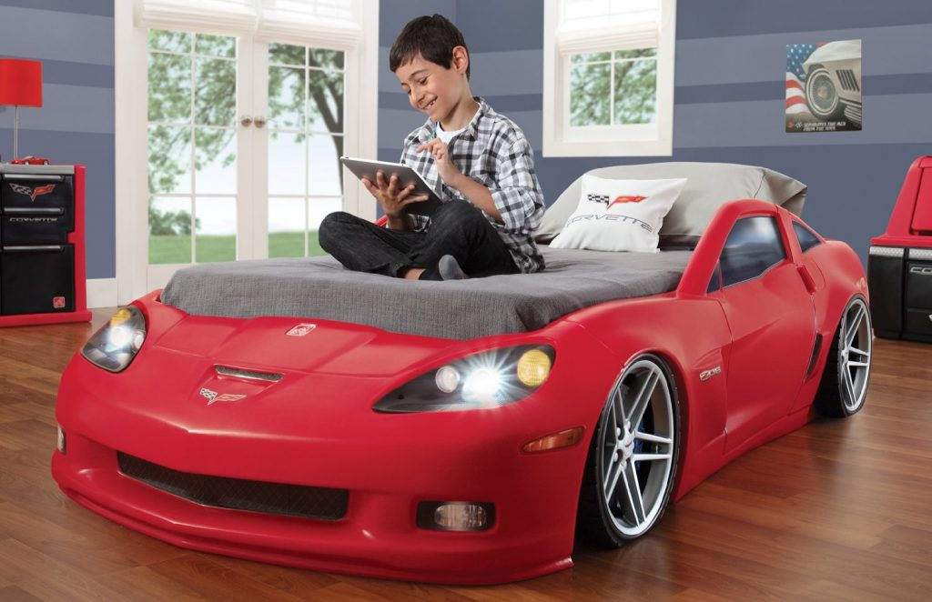 Corvette Car Bed With Real Working Lights