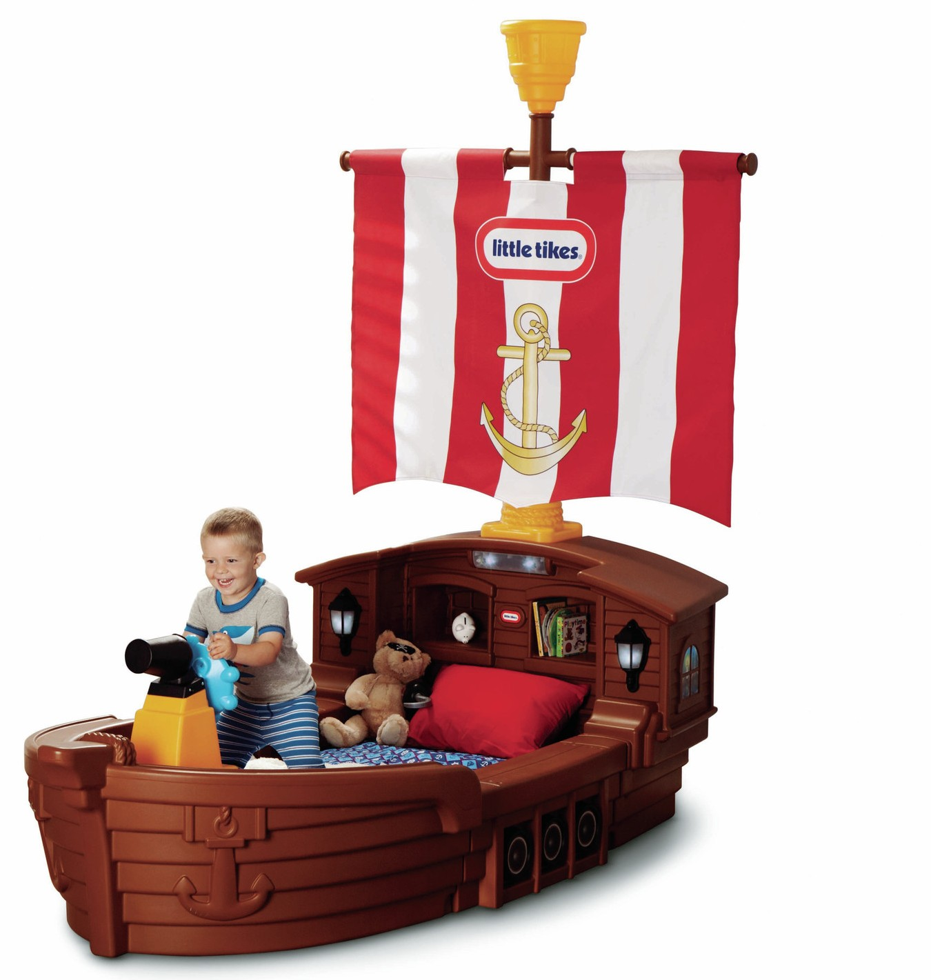 Outdoor Toddler Toys Boats : Pirate ship bed