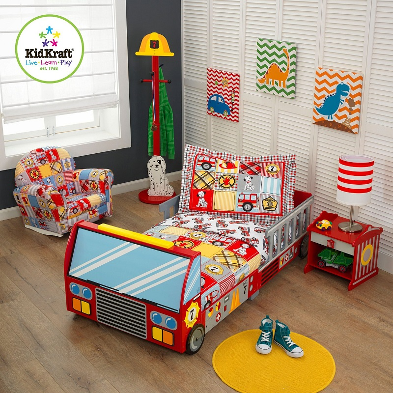 Fire Truck Toddler Bed Unique Beds For Toddlers