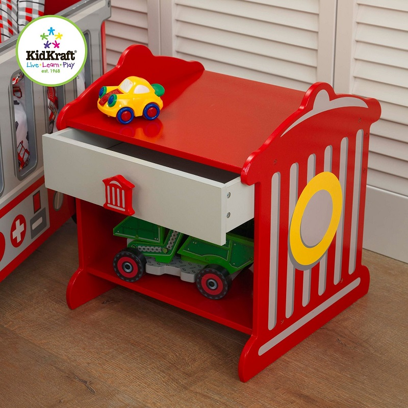 Fire truck toddler bed kidsdimension - Ikea fire truck bed ...