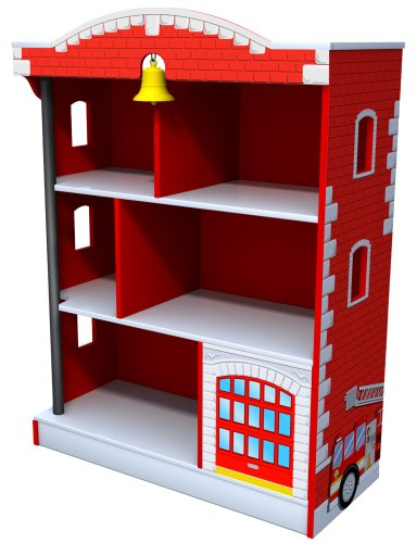 Kidkraft Firehouse Bookcase | Kids Bookcases
