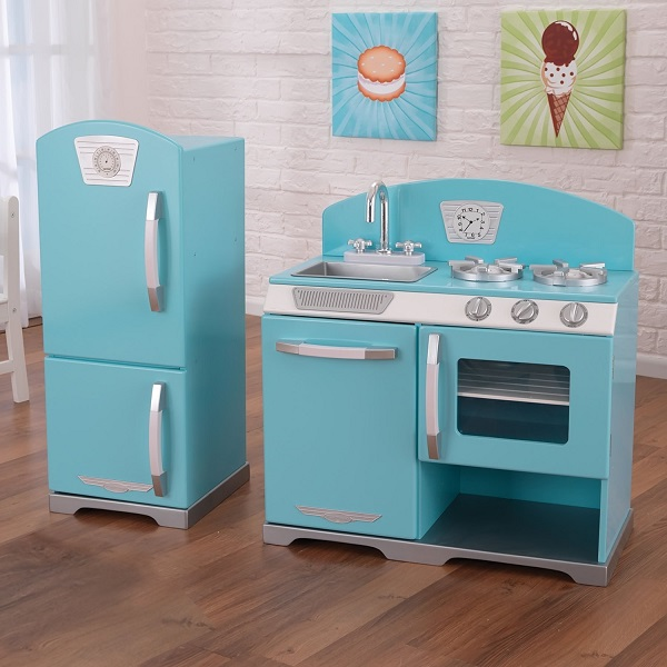 2-Piece Retro Kitchen by KidKraft -