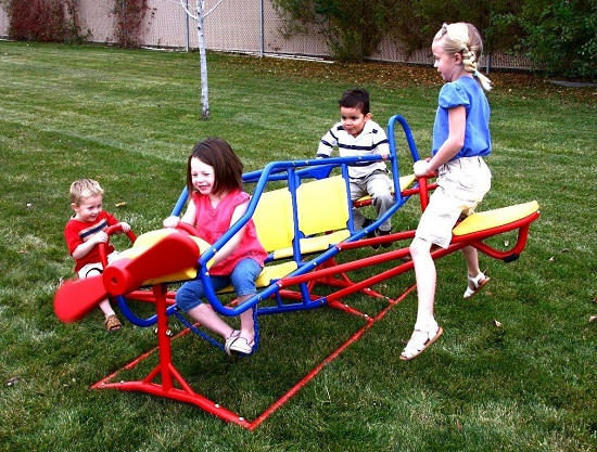 Ace Flyer Teeter-Totter by Lifetime - Best Outdoor Playsets