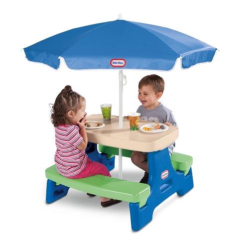 Easy Store Junior Picnic Table with Umbrella