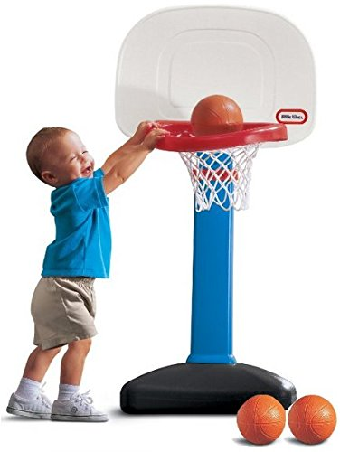 Best Outdoor Toys For Toddlers - EasyScore Basketball Set by Little Tikes