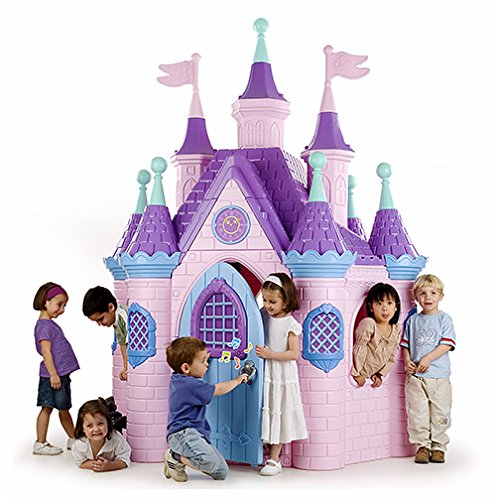 Jumbo Princess Palace Playhouse by ECR4Kids - Best Outdoor Playhouses