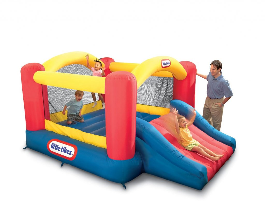 Jump 'n Slide Bouncer by Little Tikes
