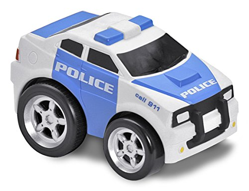 Kid Galaxy Squeezable Pull Back Police Car