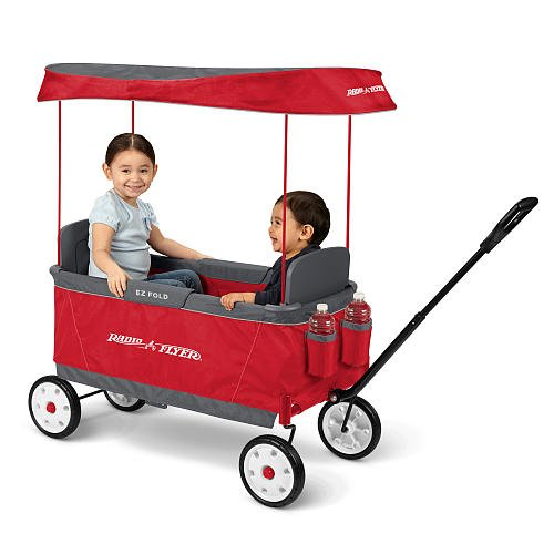 Kid's Ultimate EZ The Best Folding Wagon Ride On by Radio Flyer