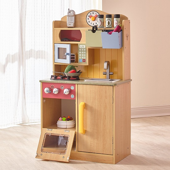 Toy Play Kitchen by Teamson Kids