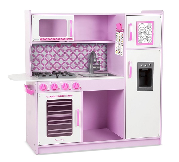 Melissa & Doug Chef's Kitchen in Cupcake Pink