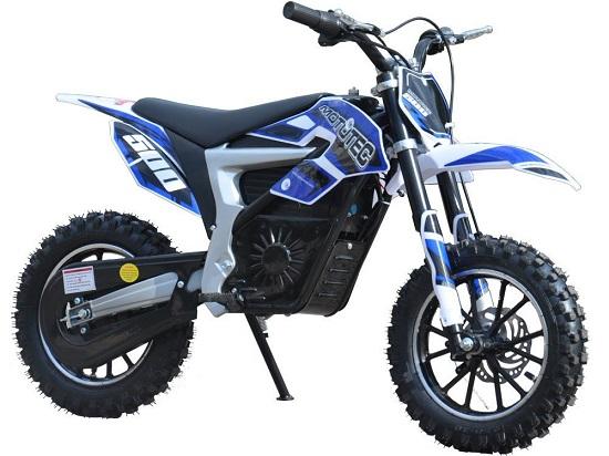 MotoTec Electric Dirt Bike MotoTec - Lithium Blue