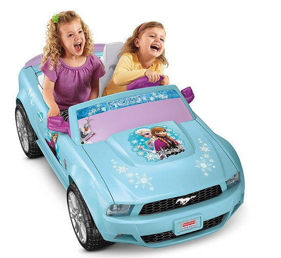 Power Wheels Disney Frozen Ford Mustang