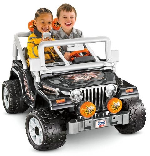 Power Wheels Tough Talking Jeep Wrangler by Fisher Price