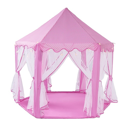 Princess Castle Play Tent With LED Star Lights - Best Kids Play Tents  sc 1 st  KidsDimension & Best Kids Play Tents 2018 | KidsDimension