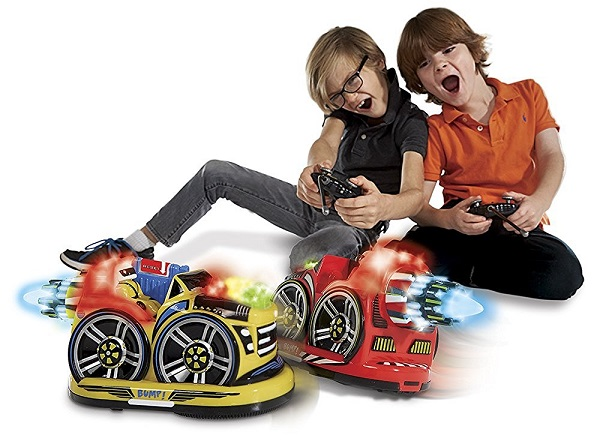 Remote Control Bumper Cars by Kid Galaxy 2 Cars & 2 Controllers