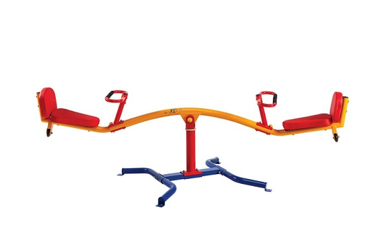 Spinning Teeter Totter by Gym Dandy