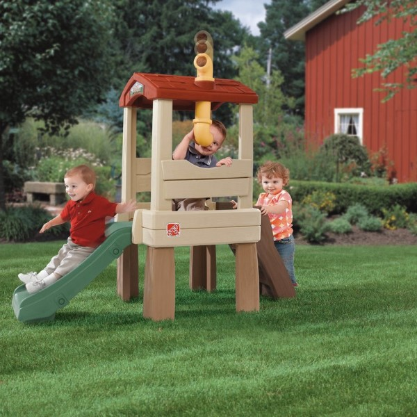 Step2 Naturally Playful Lookout Treehouse Playhouse - Best Outdoor Playsets