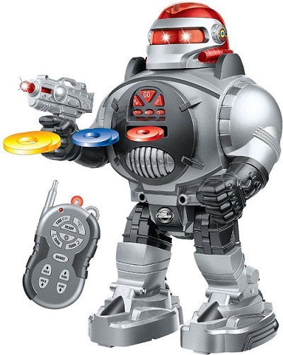Thinkgizmos Remote Control Shooting, Dancing and Talking Robot