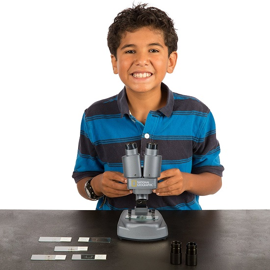 Dual Microscope Science Lab by National Geographic - Best Microscopes For Kids
