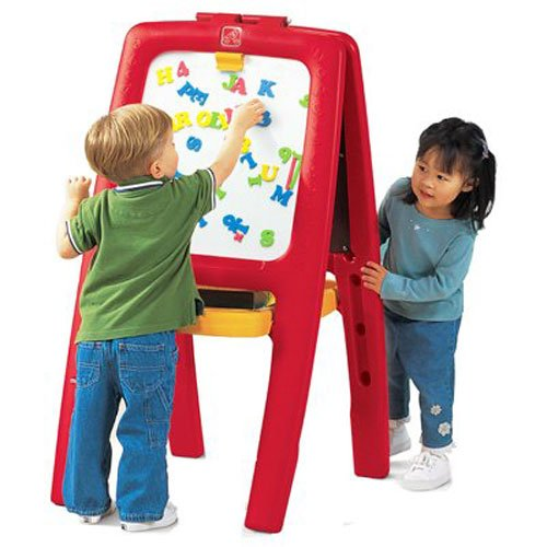 Easel For Two with Bonus Magnetic Letters/Numbers by Step2