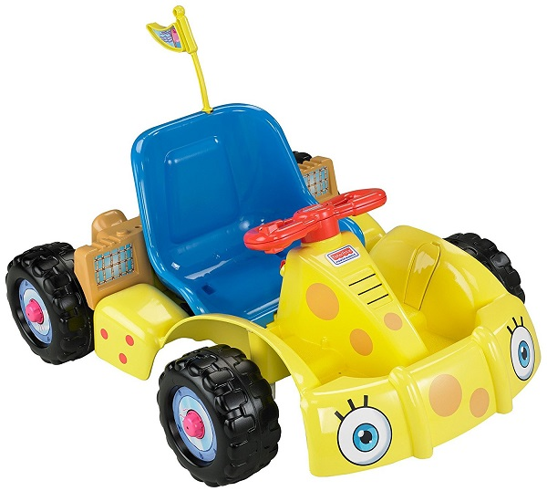 Power Wheels SpongeBob Go Kart