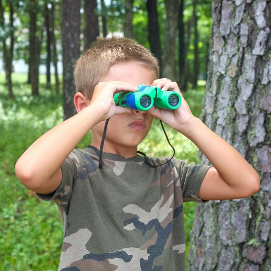Shock Proof 8x21 Kids Binoculars Set by Kidwinz