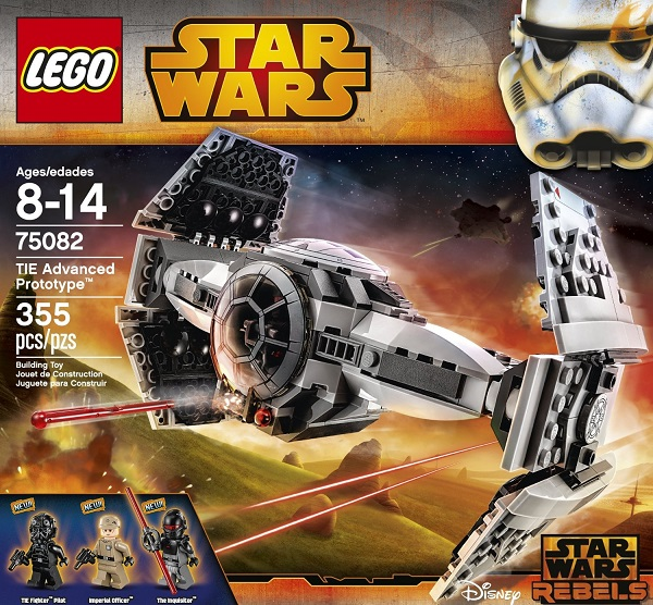 TIE Advanced Prototype - Best LEGO Star Wars Sets