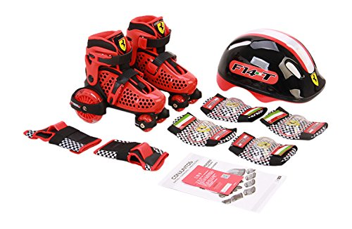 Ferrari My First Skate Combo Set - Roller Skates For Kids