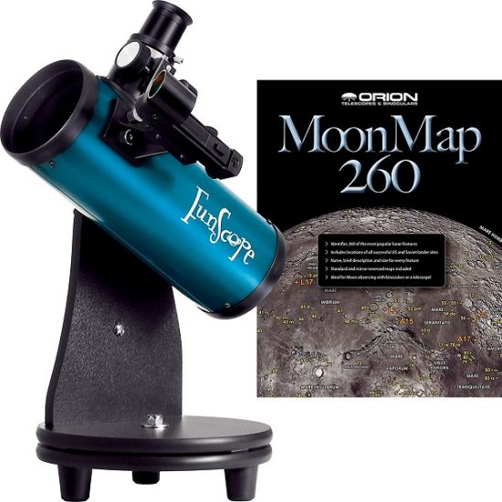 Orion FunScope 76mm TableTop Reflector Telescope For Kids