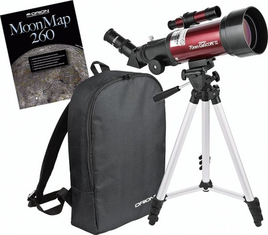 Orion GoScope II 70mm Refractor Travel Telescope - Best Telescopes For Kids