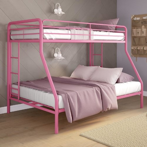 Dundressan Twin Over Full Bunk Bed - Cool Bunk Beds For Girls