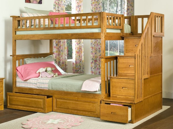Henry Bunk Bed with Storage - Cool Bunk Beds For Boys