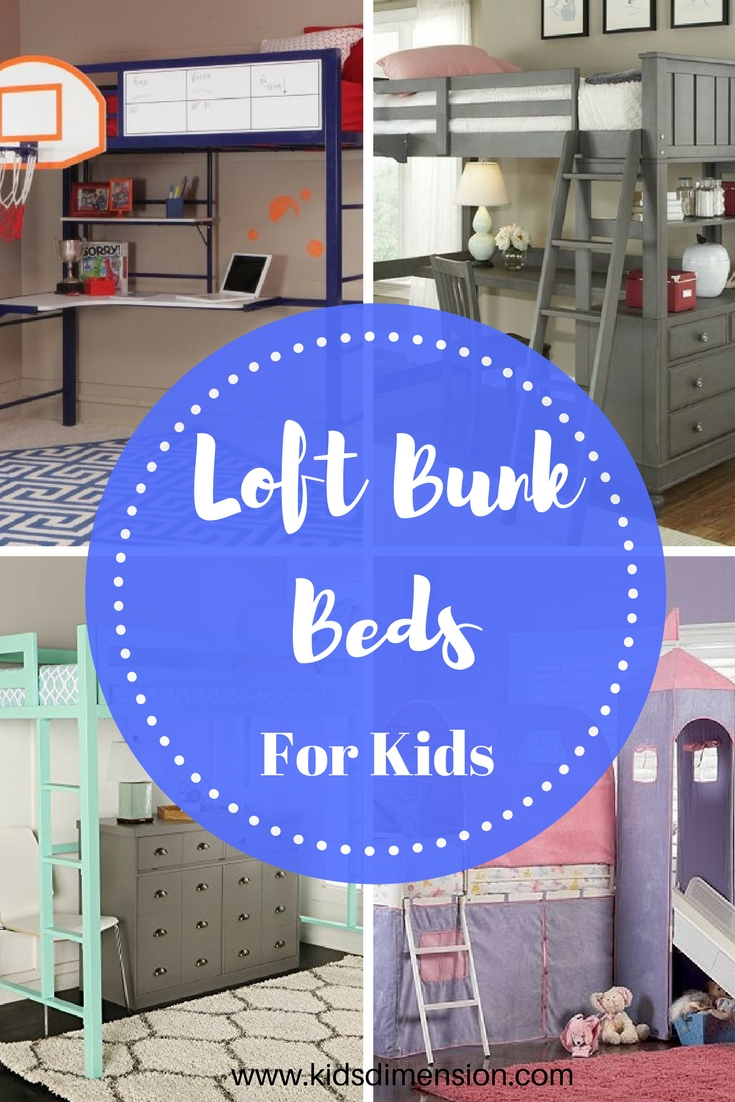 Loft Bunk Beds For Kids – Cool Loft Beds Kids Will Love #bunkbeds #loftbunkbeds #coolbedsforkids