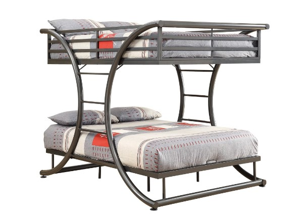 Modern Full over Full Bunk Bed - Bunk Beds For Boys