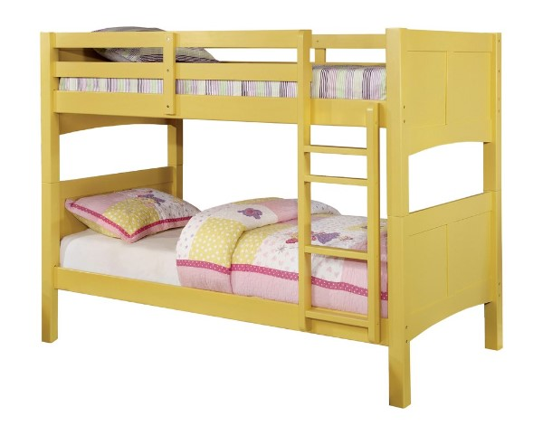 Sabine Twin Over Twin Bunk Bed - Kids Twin Over Twin Bunk Beds #bunkbeds #kidsbeds #kidsbedroom