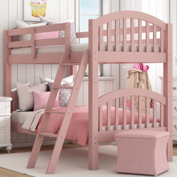 Susie Twin over Twin Bunk Bed - Cool Bunk Beds For Girls
